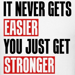 it never gets easier - You just get stronger 2CLR