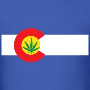 Colorado Marijuana Shirt - Men's T-Shirt