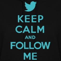Keep Calm and Follow Me Twitter Hoodies