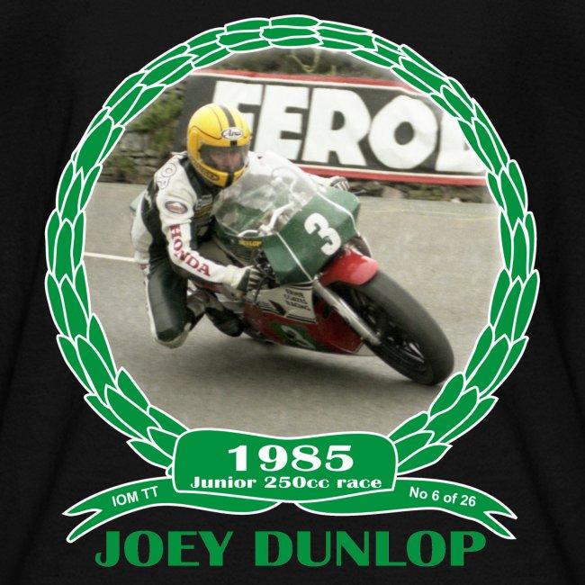 No 6 Joey Dunlop TT 1985 Junior (child)