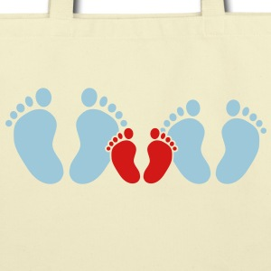 family feet Bags  - Eco-Friendly Cotton Tote