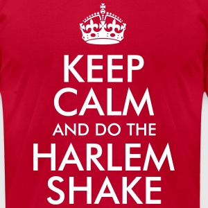 Keep Calm and do the Harlem Shake T-Shirts - Men's T-Shirt by American Apparel