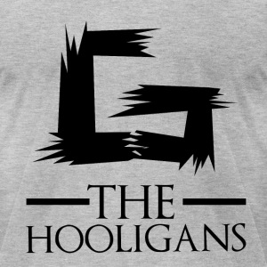 The Hooligans - Men's T-Shirt by American Apparel