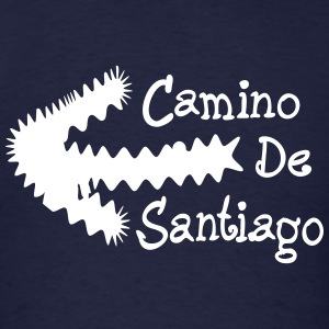 Camino de Santiago direction Men's Standard Weight - Men's T-Shirt