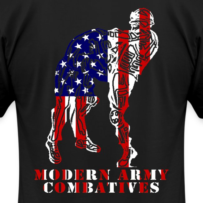 MACP Knee Fighter USA Flag Slim Fit