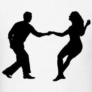 swing dancers T-Shirts - Men's T-Shirt