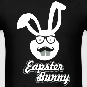 Easter Hipster Bunny T-Shirts - Men's T-Shirt