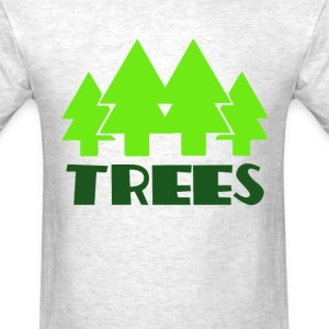 TREES T-Shirts - Men's T-Shirt