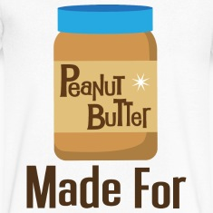 Made For Each Other Couples (Peanut Butter) T-shir