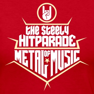 The steely Hitparade of Metal Music 2c Long Sleeve Shirts - Women's Long Sleeve Jersey T-Shirt