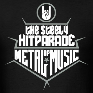 The steely Hitparade of Metal Music 2c T-Shirts - Men's T-Shirt