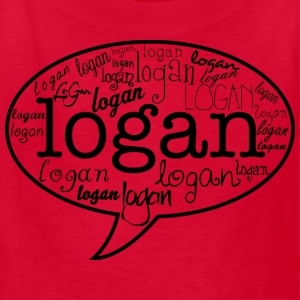 Logan Henderson Names MP Kids' Shirts - Kids' T-Shirt