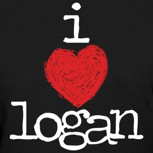 Logan Henderson I Heart Logan MP  Women's T-Shirts - Women's T-Shirt