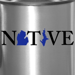 Native Michigander Bottles & Mugs - Travel Mug