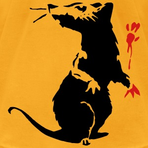 Rat - Panit Hand T-Shirts - Men's T-Shirt by American Apparel