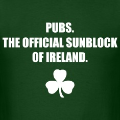 Pubs...The Official Sunblock of Ireland