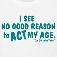 Design ~ George Takei says It's OK to be Takei! with this Women's T