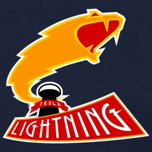 The Tesla Lightning Women's T-Shirts - Women's T-Shirt