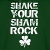 SHAKE YOUR SHAMROCK Hoodies - Men's Hoodie