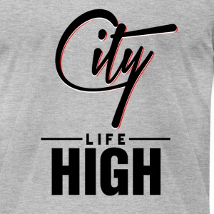 City High Life - Men's T-Shirt by American Apparel