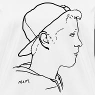 Design ~ Women's Side Portrait Standard T-Shirt