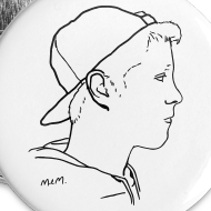 Design ~ Small Buttons Side Portrait