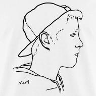 Design ~ Men's Side Portrait Standard T-Shirt