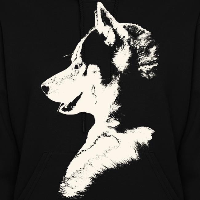 Women's Husky Shirts Siberian Husky Shirts Sled Dog Shirt