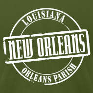 Design ~ New Orleans Title American Apparel T-Shirt