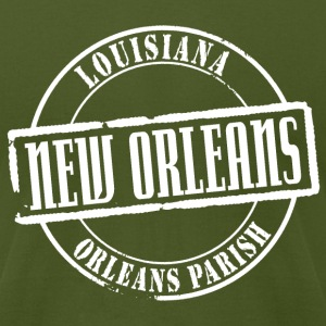 New Orleans Title American Apparel T-Shirt - Men's T-Shirt by American Apparel