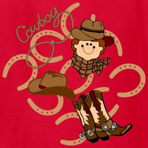 cowboy kids tshirt - Kids' T-Shirt