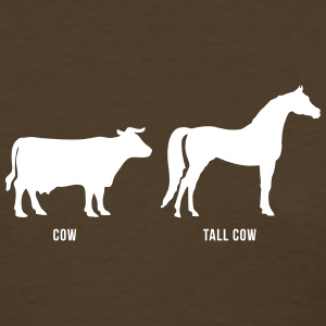 Cow vs Tall Cow - Women's T-Shirt