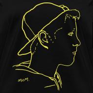 Design ~ Women's Side Portrait Yellow Standard T-Shirt