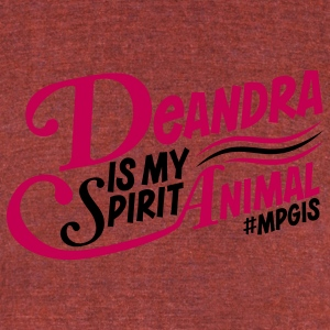 Most Popular Girls in School Deandra T-Shirts - Unisex Tri-Blend T-Shirt by American Apparel