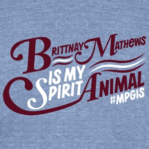 Most Popular Girls in School Brittany  T-Shirts - Unisex Tri-Blend T-Shirt