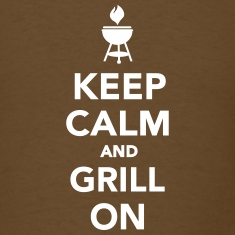 Keep calm and grill on T-Shirts