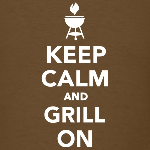 Keep calm and grill on T-Shirts - Men's T-Shirt