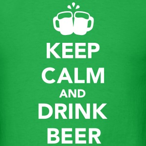 Keep calm and drink beer T-Shirts - Men's T-Shirt