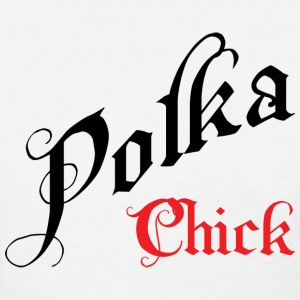 Polka Chick T-Shirt - Women's T-Shirt