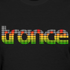 Trance EQ (Mix) Women's T-shirts