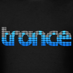 Trance EQ (Blue) Men's T-shirts