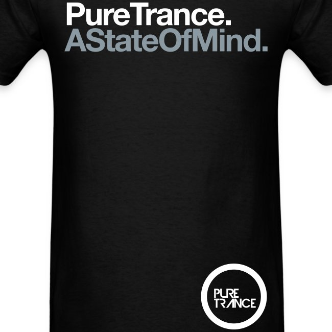 A State Of Mind. (White/Metallic Silver) [Male]