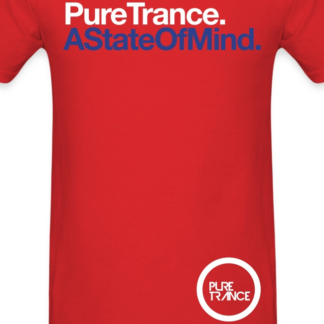 A State Of Mind. (White/Blue) [Male]
