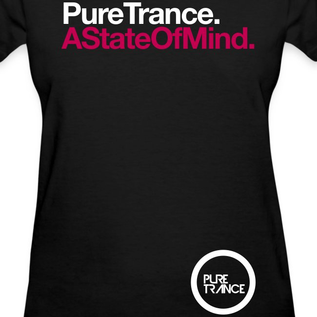 A State Of Mind. (White/Magenta) [Female]