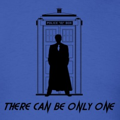 Dr Who Highlander T-Shirts