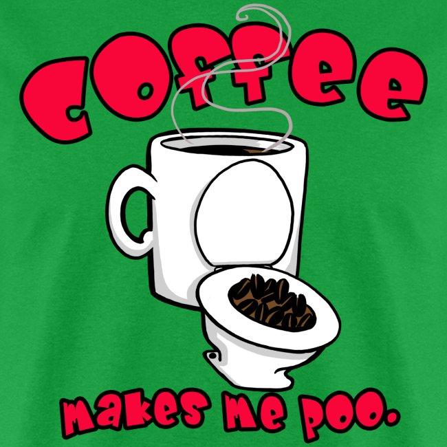 Coffee Makes Me Poo.