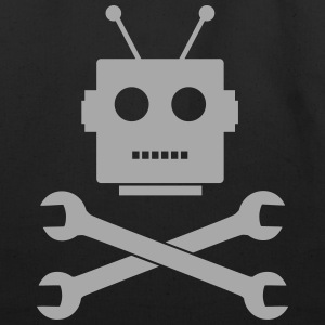 Robot, Like Jolly Roger - Eco-Friendly Cotton Tote