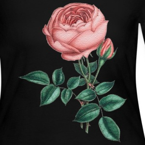 pink rose - Women's Long Sleeve Jersey T-Shirt
