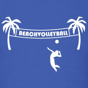 Beach volleyball,volleyball,beach,beach net, sun T-Shirts - Men's T-Shirt