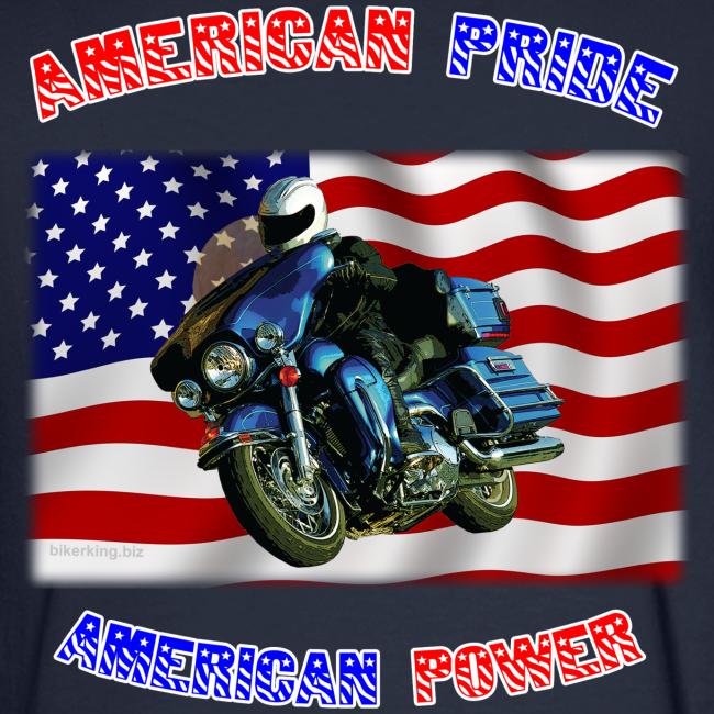 Men's Long Sleeve Hanes Back American Pride
